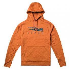 Толстовка SITKA Logo Hoody цвет Burnt Orange