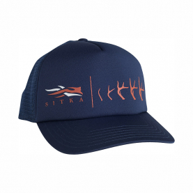 Бейсболка SITKA Antler Evolution Whitetail Foam Trucker цвет Navy
