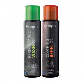Набор GRANGERS пропитка Clothing Repel + средство для стирки Performance Wash 2 в 1