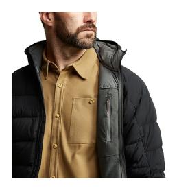 Куртка SITKA Kelvin Lite Down Jacket цвет Black превью 5