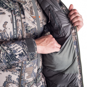 Куртка SITKA Blizzard Parka цвет Optifade Open Country превью 4