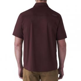 Рубашка SITKA Shop Shirt SS цвет Bitter Root превью 4