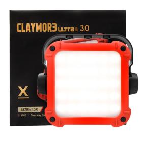 Фонарь кемпинговый CLAYMORE Ultra II 3.0X цв. Red