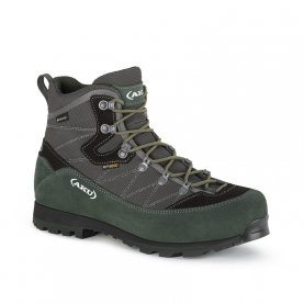 Ботинки горные AKU Trekker L.3 Wide GTX цвет Anthracite / Green