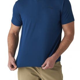 Футболка SITKA Basin Work Shirt SS цвет Admiral Blue превью 3