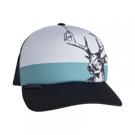 Бейсболка SITKA Field Sketch Whitetail Foam Trucker цвет Black
