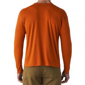 Футболка SITKA Basin Work Shirt LS цвет Burnt Orange превью 5