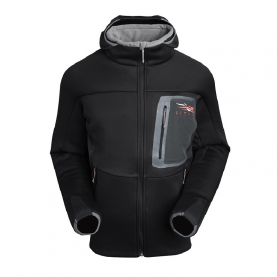 Толстовка SITKA Traverse C Weather Hoody цвет Black превью 2