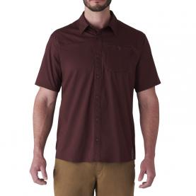 Рубашка SITKA Shop Shirt SS цвет Bitter Root превью 5