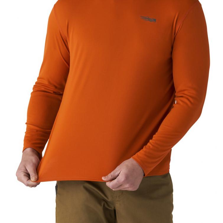 Футболка SITKA Basin Work Shirt LS цвет Burnt Orange фото 3