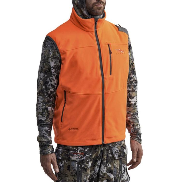Жилет SITKA Stratus Vest New цвет Blaze Orange фото 6