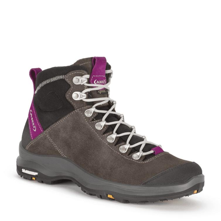 Ботинки треккинговые AKU WS La Val Lite GTX цвет Grey / Magenta фото 1