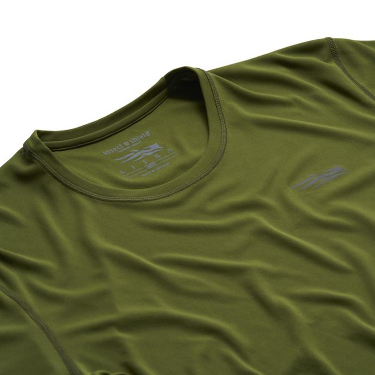 Футболка SITKA Basin Work Shirt SS цвет Cedar фото 2
