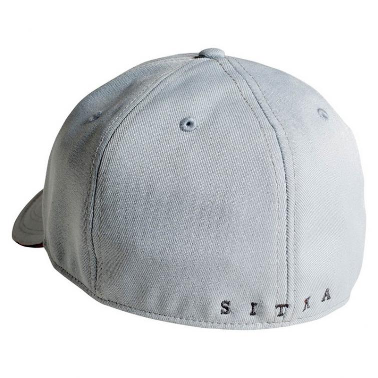 Бейсболка SITKA Fitted Cap цвет Ash фото 2