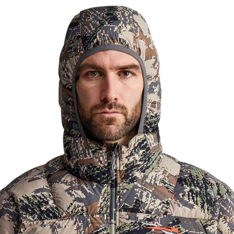Куртка SITKA Kelvin Lite Down Jacket цвет Optifade Open Country фото 5