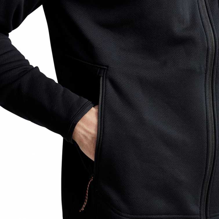 Джемпер SITKA Dry Creek Fleece Jacket цвет Black фото 5