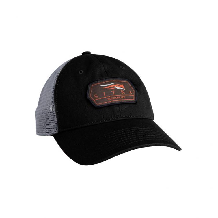 Бейсболка SITKA Meshback Trucker Cap цвет Black фото 1